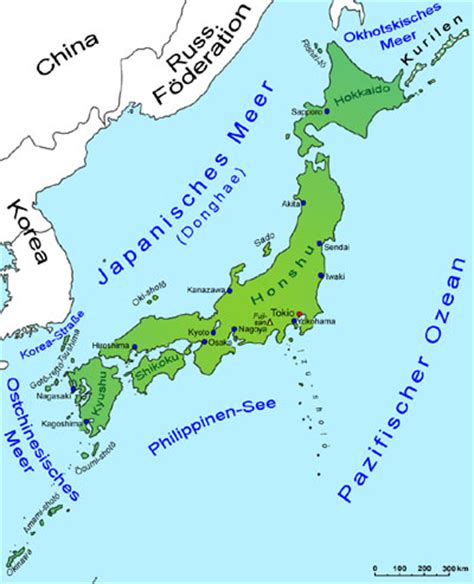 japan landkarte laender japan goruma