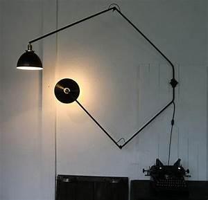 Lampe Murale Industrielle : wo and w collection lampe murale industrielle deux bras articul s orientables ~ Teatrodelosmanantiales.com Idées de Décoration
