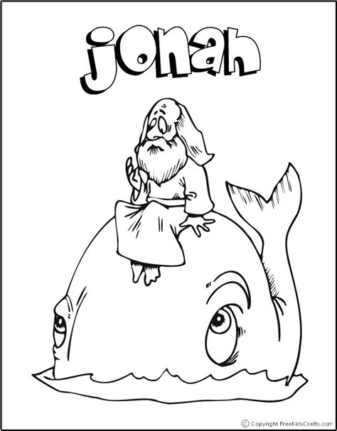 bible stories coloring pages 340 | color jonah