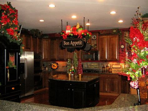 unique kitchen decorating ideas  christmas family