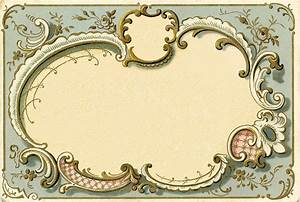 Spectacular French Graphic Frame Image - The Graphics Fairy