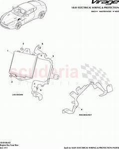 Aston Martin Virage Engine Bay Fuse Box Parts