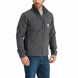 Carhartt Men's Rough Cut Jacket - Charcoal by Carhartt at ...