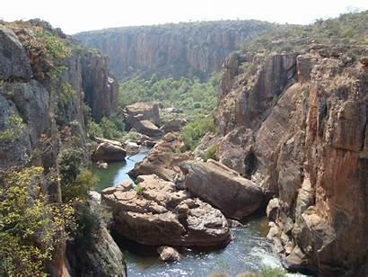 Blyde Canyon River Mpumalanga Africa South Province