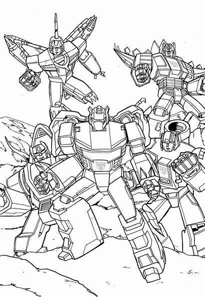 Transformers Dinobots Generation Bots Rescue Inks Coloring