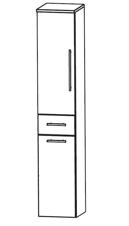 bad hochschrank 30 cm breit puris classic line bad hochschrank mit w 228 schekippe 30 cm breit hna053a7w badm 246 bel 1
