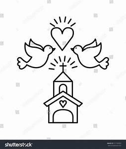 Church Dove Vector