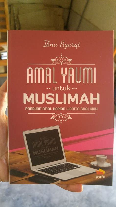 buku amal yaumi untuk muslimah toko muslim title