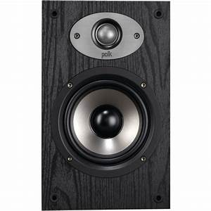 Polk Audio 5-1  4 In  Bookshelf Speaker