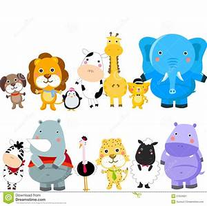 Group Of Wild Animals Clipart - Clipart Suggest