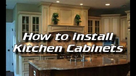 how to lay out kitchen cabinets how to install kitchen cabinets installing kitchen 8727