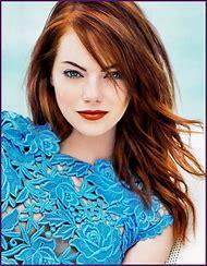 Auburn Hair Pale Skin Blue Eyes