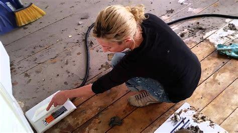 removing tar paper  floor youtube