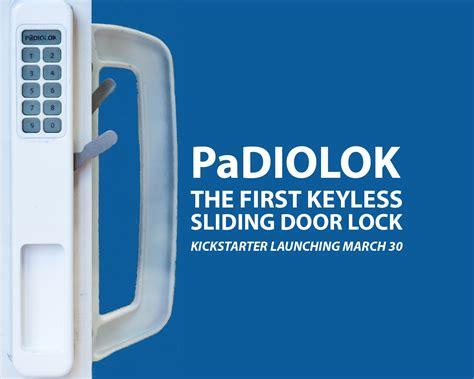 sliding glass door lock keypad sliding doors