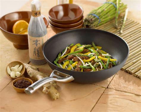 calphalon contemporary nonstick stir fry pan  cutlery