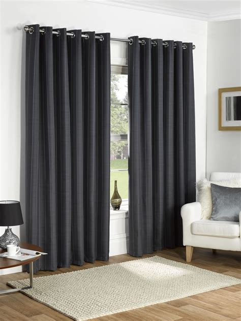 thermal ring top fully lined blackout ready made curtains