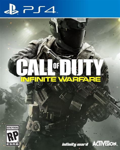call  duty infinite warfare changing box art due