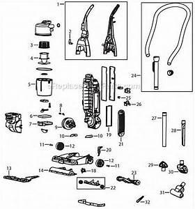 Bissell 92l3p Parts List And Diagram   Ereplacementparts Com