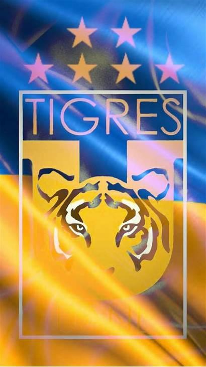 Tigres Uanl Pantalla Estrellas Fondo Escudo Fondos