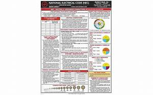 2017 National Electrical Code  Nec  Quick Card