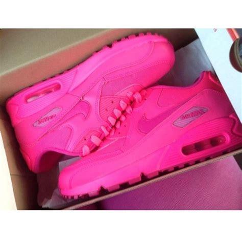 shoes sneakers sneakers nike air max neon pink air max