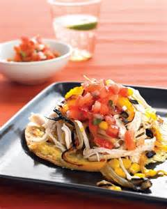 Healthy Chicken Tostada Recipe