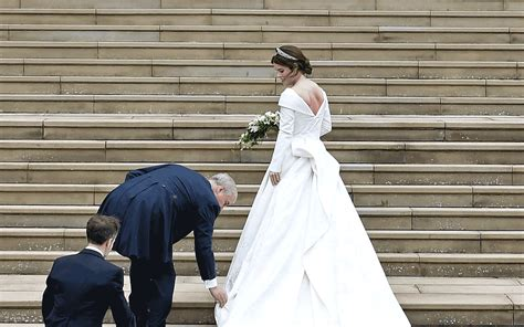 Princess Eugenie's Wedding Dress Holds A Ton Of Hidden