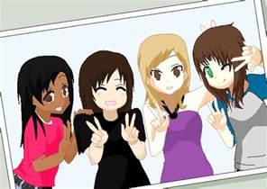 4 Best Friends Drawings