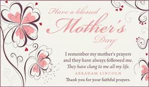 Faithful Prayers eCard - Free Mother's Day Cards Online