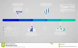 Time Line Infographic  Vector Illustration Stock Vector