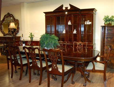 mahogany dining room set for dining room top 10 vintage mahogany dining room set 9720