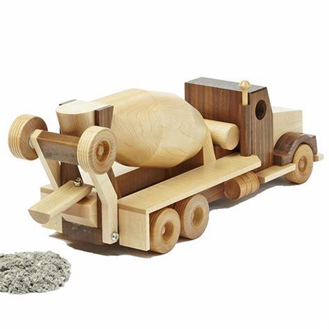 construction grade concrete truck woodworking plan