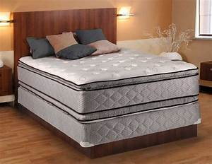 Hollywood plush king size mattress and boxspring set with for Best deal on king size mattress