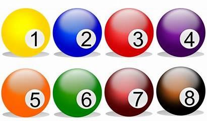 Billiard Numbers Balls Billard Pixabay Multi Colored