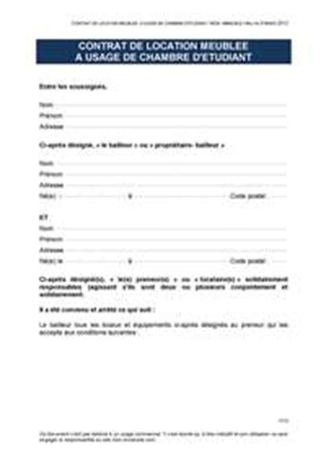 contrat de location chambre chez l habitant mon immeuble l 39 information et les services de la copropriété