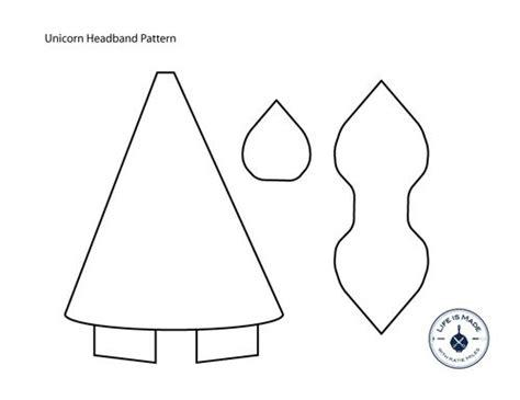 unicorn headband tutorial   pattern tinner