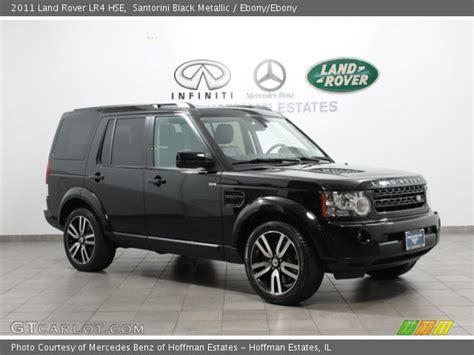 land rover lr4 blacked santorini black metallic 2011 land rover lr4 hse ebony