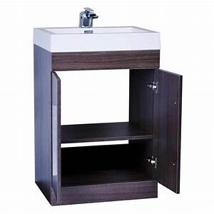 24quot bathroom vanity set grey oak tn tm600 go on for Bathroom vanities 24 inches wide