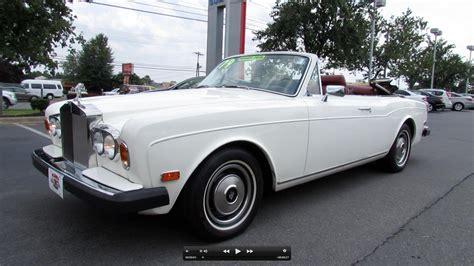 1979 Rolls Royce Corniche Convertible Start Up, Exhaust