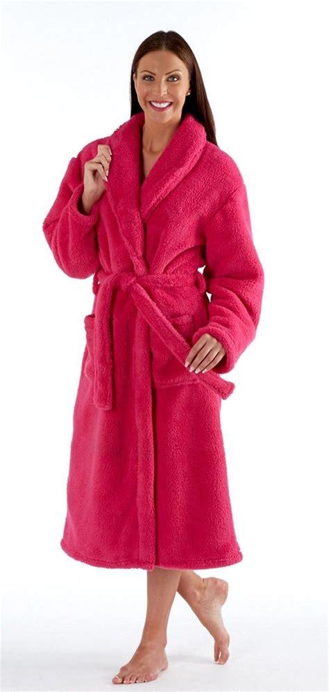 peignoir robe de chambre peignoir robe de chambre femme luxe corail polaire ou