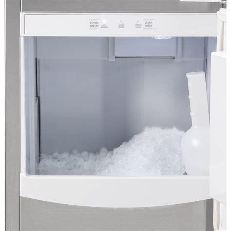uncnjii ge  nugget ice maker gravity drain