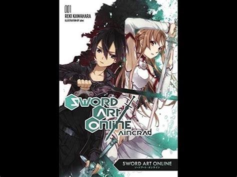 ['pdf'] Sword Art Online 1 Aincrad  Light Novel Youtube