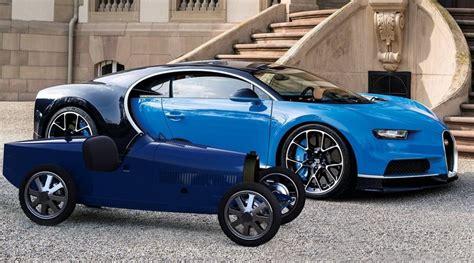 At the geneva motor show 2019. Bugatti Baby II: Ηλεκτρικό αυτοκίνητο για παιδιά, με τελική ταχύτητα 20 χιλιόμετρα την ώρα