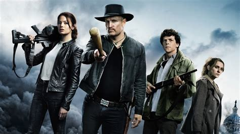 zombieland   poster characters   wallpaper