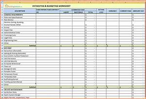 Sample Balance Sheets 11 Construction Expenses Spreadsheet Excel Spreadsheets