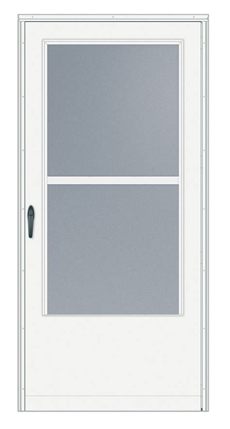 emco screen door emco 34 inch w 200 series track white screen door
