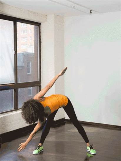 Standing Toe Exercise Touches Exercises Abs Crossover