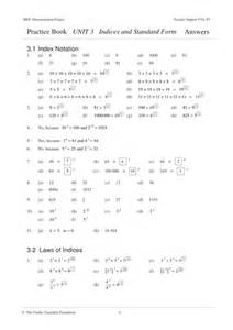 Multiples And Factors Worksheets Ks3 Indices Standard Form Mep Year 9 Unit 3 By Cimt Teaching Resources Tes