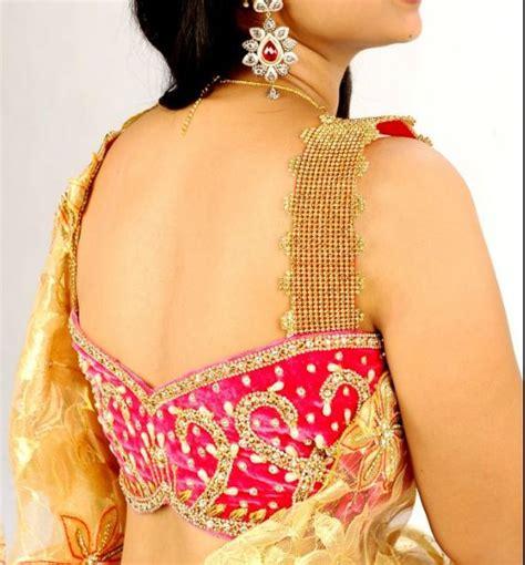 latest  trending blouse  neck designs top