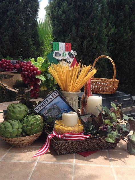 italian centerpieces ideas  pinterest italian